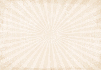 Sunburst Grunge Vector Background - Kostenloses vector #396135