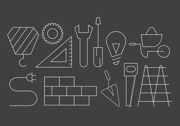 Free Construction Icons - vector #396585 gratis