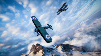 Battlefield 1 / Flying By - image gratuit #396645