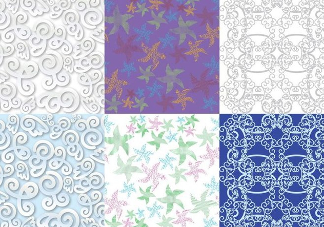 Texture Patterns - Free vector #396815