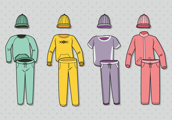 Free Colorful Tracksuit Vector - Free vector #396945