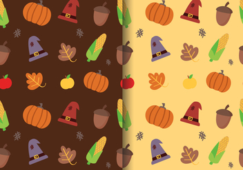 Free Thanksgiving Pattern Vector - Kostenloses vector #397435