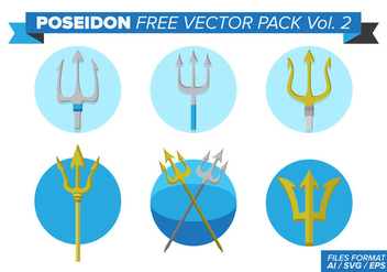 Poseidon Free Vector Pack Vol. 2 - vector #397615 gratis