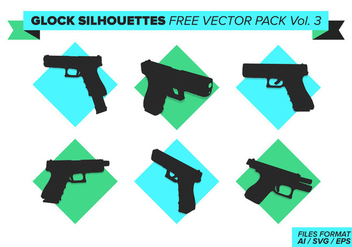 Glock Free Vector Pack Vol. 3 - vector #397625 gratis