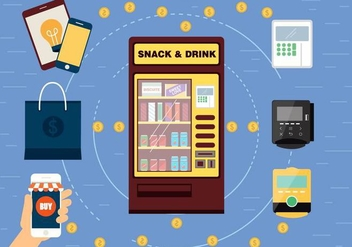 Free Vector Vending Machine - vector #397925 gratis