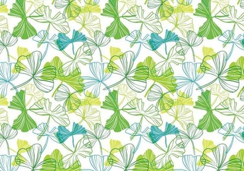 Free Ginko Pattern Vectors - Free vector #398305