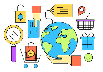 Free Shopping Icons - бесплатный vector #398365