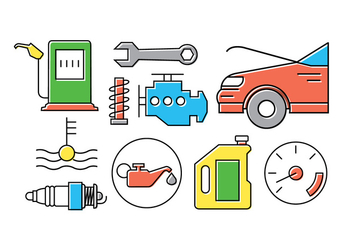 Car Vector Icons - Free vector #398375