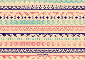 Hand Drawn Pattern Background - vector gratuit #398555
