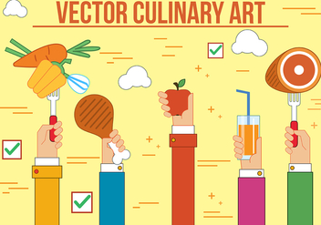 Free Culinary Art Vector - бесплатный vector #398565