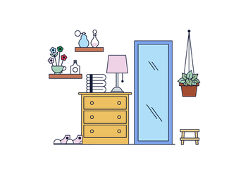 Free Room Vector - Free vector #398655