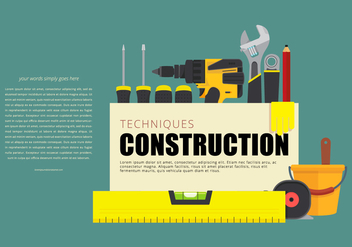 Tools and Level Opening Page - vector gratuit #398685