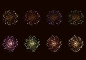 Vector Of Fire Crackers - vector gratuit #398785