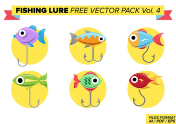 Fishing Lure Free Vector Pack Vol. 4 - бесплатный vector #398955