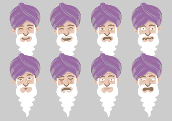 Free Guru Vector Illustration - Free vector #399375