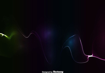 Abstract Colorful Wave - Vector - vector #399415 gratis
