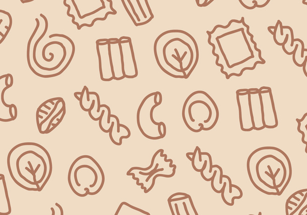 Pasta Pattern - Free vector #399495