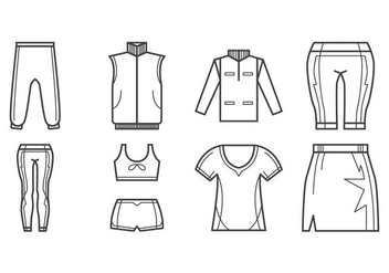 Free Sport Clothes Icon Vector - Free vector #399745