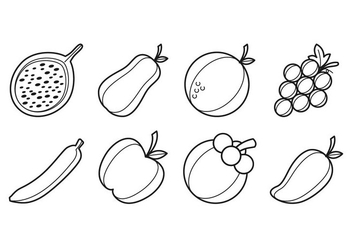 Free Fruit Icon Vector - Free vector #399915
