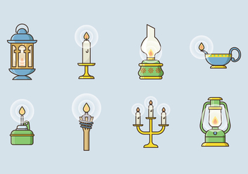 Free Lamp Vector Icons - бесплатный vector #400255