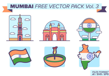 Mumbai Free Vector Pack Vol. 3 - бесплатный vector #400475
