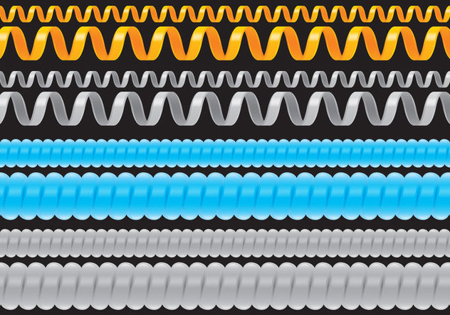 Slinky Cables - Free vector #400555