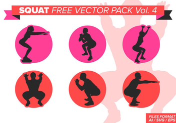 Squat Free Vector Pack Vol. 4 - vector #400705 gratis