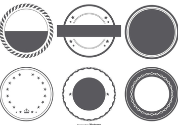 Vector Badge Shapes Collection - Kostenloses vector #400765
