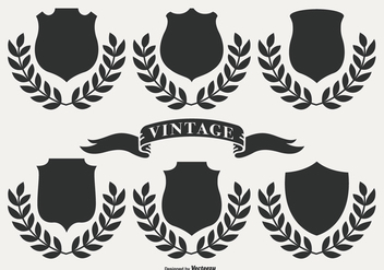 Retro Vintage Labels - vector gratuit #400835