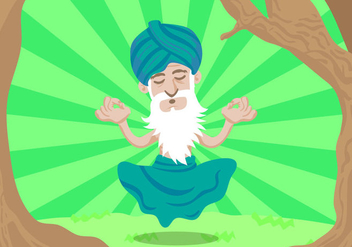Free Guru Vector Illustration - бесплатный vector #400945