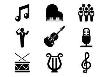 Free Choir Vector Icons - Free vector #401095