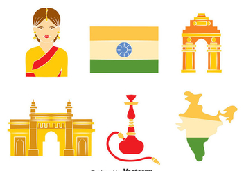 India Element Vector - vector gratuit #401255