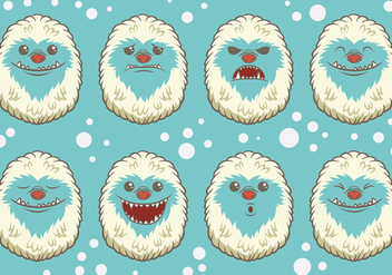 Free Yeti Icons Vector - Free vector #401645