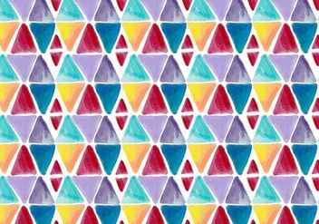 Free Vector Watercolor Geometric Background - Free vector #401915