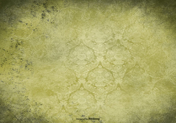 Green Vintage Grunge Background - vector gratuit #402755