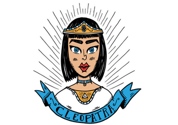 Free Cleopatra Character Vector - Free vector #402805