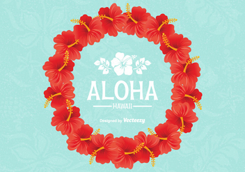 Free Vector Hawaiian Lei Design - vector gratuit #402865