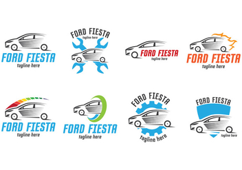 Ford Fiesta Logo - Free vector #402985