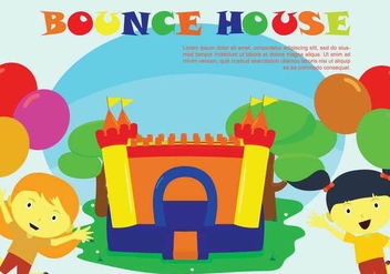 Free Bounce House Illustration - Free vector #403275