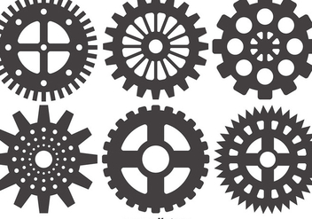 Cogs And Gears Icon Vector Illustration Isolated - Free vector #403615