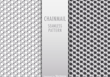 Free Chainmail Seamless Pattern Vector - Free vector #403675