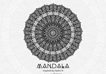 Free Hand Drawn Vector Mandala - бесплатный vector #403695