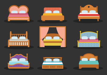 Free Mattress Vector - vector gratuit #403765