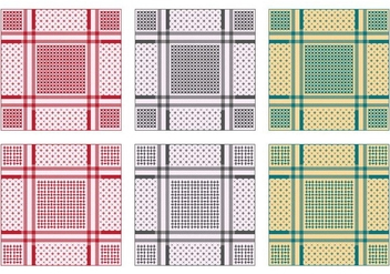 Background Of Keffiyeh Pattern - vector gratuit #403995