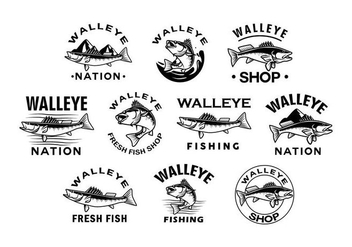 Free Walleye Vector - Free vector #404045