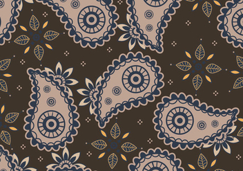 Ornament Of Cashmere Seamless Pattern - vector #404095 gratis