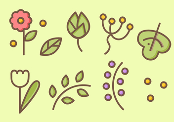 Free Nature Elements Vector - vector #404135 gratis