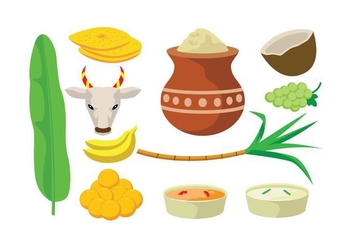 Free Pongal Vector - Free vector #404265