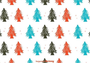 Winter Forest Background - vector gratuit #404325