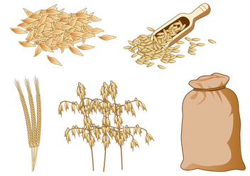 Oats Free vector - Free vector #404485